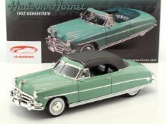 Hudson Hornet convertibile con removibile top anno di costruzione 1952 luminoso verde 1:18 GMP