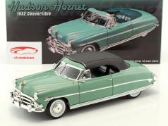 Hudson Hornet convertible avec amovible haut année de construction 1952 brillant vert 1:18 GMP