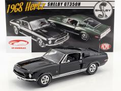 Ford Mustang Shelby GT350H Baujahr 1968 schwarz 1:18 GMP
