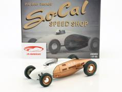 So-Cal Speed Shop Belly Tanker #555 or / blanc 1:18 GMP