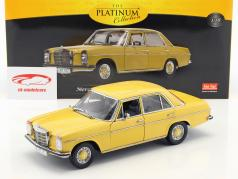 Mercedes-Benz Strich 8 Saloon année de construction 1968 sahara jaune 1:18 SunStar