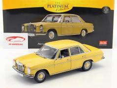 Mercedes-Benz Strich 8 Saloon year 1968 sahara yellow 1:18 SunStar
