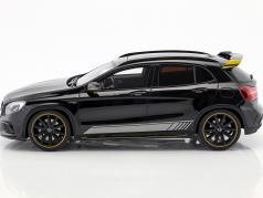 Mercedes-Benz AMG GLA 45 Yellow Night Edition night black 1:18 GT-Spirit