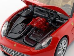 Ferrari California V8 Год 2008 красный с Hardtop 1:18 HotWheels Foundation
