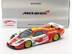 McLaren F1 GTR #40 4th 24h LeMans 1998 O'Rourke, Sugden, Auberlein 1:18 Minichamps