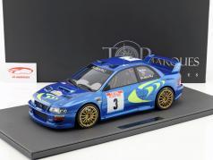 Subaru Impreza S4 WRC #3 gagnant Rallye Tour de Corse 1998 McRae, Grist 1:12 TopMarques