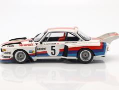 BMW 3.5 CSL #5 gagnant Havirov au niveau international 1977 Sepp Manhalter 1:18 Minichamps