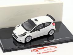 Ford Fiesta R5 Rallye Spec 2015 Plain Body Version white 1:43 Ixo