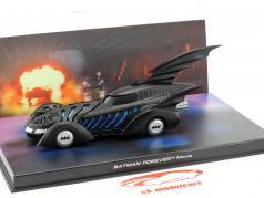 Batmobile Batman Toujours Film 1995 noir 1:43 Ixo Altaya