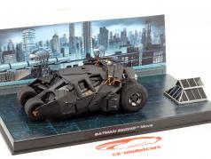 Batmobile van de Film Batman Begint 2005 zwart 1:43 Ixo Altaya