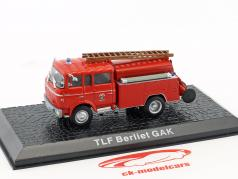 Berliet GAK TLF fire Department year 1965 red 1:72 Altaya