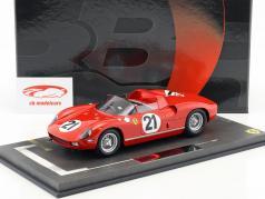 Ferrari 250P #21 ganador 24h LeMans 1963 Bandini, Scarfiotti 1:18 BBR