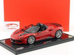 Ferrari J50 roadster année de construction 2016 tristrato rouge 1:18 BBR