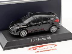 Ford Focus RS ano de construção 2016 preto 1:43 Norev