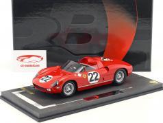 Ferrari 250P #22 tercero 24h LeMans 1963 Parkes, Maglioli 1:18 BBR