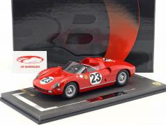 Ferrari 250P #23 24h LeMans 1963 Surtees, Mairesse 1:18 BBR