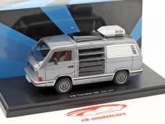 Volkswagen VW T3 Traveller Jet year 1979 anthracite / silver 1:43 AutoCult