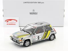 Renault Super 5 GT Turbo #9 vencedor rali costa do Marfim 1989 Oreille, Thimonier 1:18 Norev