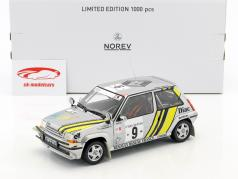 Renault Super 5 GT Turbo #9 Vinder rally kyst Ivory 1989 Oreille, Thimonier 1:18 Norev