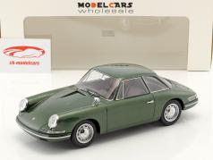 Porsche 754 T7 coupe prototype 1959 green metallic with showcase 1:18 AutoCult