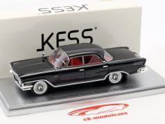Chrysler New Yorker berline 4 portes année de construction 1962 noir 1:43 KESS