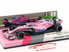 Sergio Perez Force India VJM11 #11 bahrein GP formule 1 2018 1:43 Minichamps
