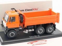 Tatra 815 S3 Three-way tipper LKW oranje 1:43 Premium ClassiXXs