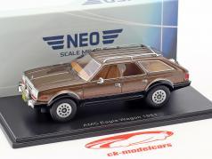 AMC Eagle Wagon año de construcción 1981 marrón metálico 1:43 Neo