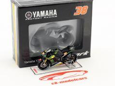 Yamaha YZR M1 #38 7e plaats Italiaans GP Mugello 2016 Bradley Smith 1:43 Spark