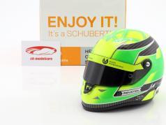 Mick Schumacher Dallara F317 Formel 3 Champion 2018 Helm 1:2 Schuberth