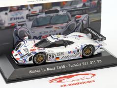 Porsche 911 GT1 #26 Vencedor 24 horas de Le Mans 1998 McNish, Aiello, Ortelli 1:43 Centelha