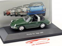 Porsche 911 Targa Bouwjaar 1965 groen 1:43 Atlas