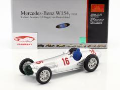 R. Seaman Mercedes-Benz W154 #16 Germany GP formula 1 1938 1:18 CMC