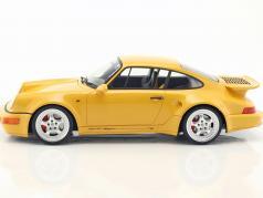 Porsche 911 (964) Turbo S lightweight speed yellow 1:12 CMR