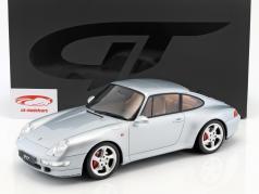 Porsche 911 (993) Carrera 4S año de construcción 1993 polar plata 1:12 GT-Spirit