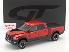 Dodge RAM Power Wagon Baujahr 2017 flammen rot 1:18 GT-Spirit