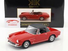 Ferrari 275 GTS/4 Pininfarina Spyder con ruedas de radios año de construcción 1964 rojo 1:18 KK-Scale