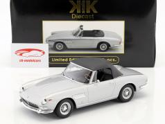 Ferrari 275 GTS/4 Pininfarina Spyder con ruedas de radios año de construcción 1964 plata 1:18 KK-Scale