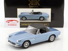 Ferrari 275 GTS/4 Pininfarina Spyder con ruedas de radios año de construcción 1964 metálica de color azul claro 1:18 KK-Scale