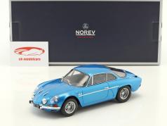Alpine Renault A110 1600S año de construcción 1971 azul metálico 1:18 Norev