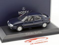 Citroen Xantia year 1993 mauritius blue 1:43 Norev