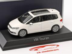 Volkswagen VW Touran ano de construção 2015 branco 1:43 Norev
