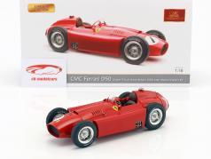 Juan Manuel Fangio Ferrari D50 #1 vincitore britannico GP campione del mondo formula 1 1956 1:18 CMC