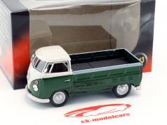 Volkswagen VW T1 Pick Up año de construcción 1960 verde oscuro / blanco 1:43 Cararama