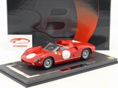 Ferrari 250 P stampa versione 1963 rosso corsa 1:18 BBR