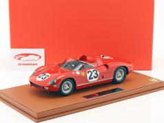 Ferrari 250 P #23 24h Le Mans 1963 Surtees, Mairesse with showcase 1:18 BBR