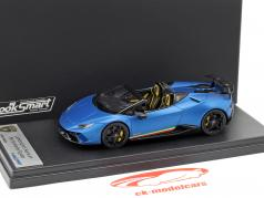 Lamborghini Huracan Performante Spyder LP 640-4 ano de construção 2017 azul aegeus 1:43 LookSmart