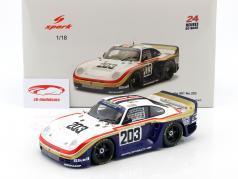 Porsche 961 #203 24h LeMans 1987 Metge, Haldi, Nierop 1:18 Spark
