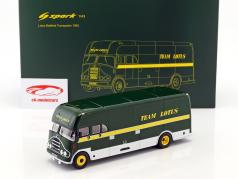 Bedford transporter formula 1 team Lotus 1963-1967 green / yellow / white 1:43 Spark