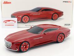 Mercedes-Benz Maybach Vision 6 coupe vermelho 1:18 Schuco
